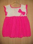Babykleidchen weiß/pink (out)