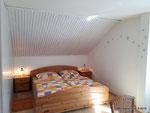 Mehrbettzimmer (1Doppelbett, 3 Einzelbetten, 1 Schlafsofa) Teilansicht