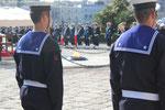 Foto Luigi Castrignano - Manifestazione sul piazzale del Monumento al Marinaio d'Italia del 12/11/2011