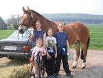 Gruppenbild mit Pferd ;-)