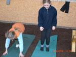 Danke an Saskia's Sportlehrer für diese Übung :-)
