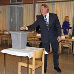 Nach der Angelobung - Wahl des Bürgermeisters
