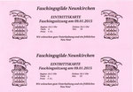 NK Faschingssitzung - 09.Jänner 2015 - Nr.001 - Eintrittskarten