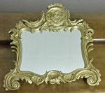Barocker Bilderrahmen mit Spiegel