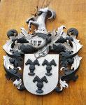 Wappen von Rochow farbig gefasst