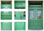 Neuanfertigung einer alten Haustür
