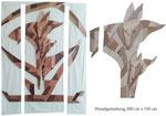 """Wandgestaltung """"Füchse"""", in Anlehnung an Franz Marc, Einzelstück ZU VERKAUFEN 1.450,00 € inkl. MwSt., bei Interesse telefonisch melden."""