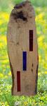 Garten- oder Grabstele, Anfertigung auf Wunsch mit Portrait und/oder Schriftzug