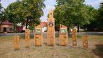 Platzgestaltung zur 800 Jahrfeier Golzow