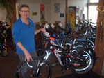 Christian Schiess,Geschäftsführer, eidg. dipl. Fahrrad- und Motorradmechaniker-Meister.