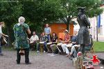 Fête Trommelgruppe Oberursel unter der Leitung von Viktor Badeja  foto  THOMAS FRANZ