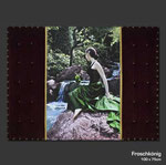 Froschkönig - Fotografie (Unikat) auf Keilrahmen 120 x 80 cm