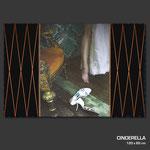 Cinderella - Fotografie (Unikat) auf Keilrahmen 120 x 80 cm