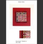 Rote Rosen - Installation in Acrylkasten
