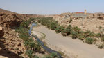 La rivière a creusé une gorge assez profonde