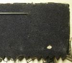 Typ XIX: Wie Typ I. Die Ordensbänder sind rosettenförmig, jedoch sehr kurz über der Blechplatte vernäht, so daß diese durch die weite aus schwarzem Filzstoff, zick-zack förmig geschnittenen Rückenabdeckung verdeckt sind. Anfertigung der 1940er Jahre