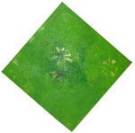 Grüne Spannung, abstrakt