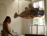 De grote vis 160x50x80cm