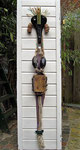 Afrikaanse vrouw 165x43cm