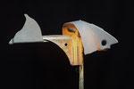 Kleine haai (staand) 90x90x50cm