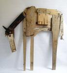 Paard 111x116cm