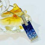 K18WGサファイア・ダイヤペンダント S:0.85ct(フレンチカット・カラーグラデーション) D:0.03ct ¥140,000(税込)