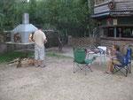 grillabend im camping von antalya