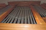 Orgue de Nontron (24) tuyaux de l'orgue photo amis de l'orgue de l'Orgue de Nontron