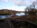 Blick von der Ruine Hardenstein auf die Ruhr
