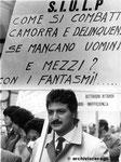 Roma, Dicembre 1984 - Manifestazione Siulp