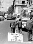 Roma, Aprile 1974 - Manifestazione contro il divorzio