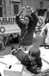 Roma, Giugno 1975 - Manifestazione per aborto