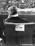 Roma, Maggio 1974 - Ugo La Malfa alla manifestazione per il divorzio