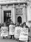 Roma, Novembre 1996 - Manifestazione Alleanza Nazionale contro stragi