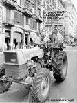 Roma, Luglio 1978 - Manifestazione contadini, Cic