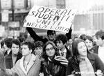 Roma, Maggio 1968 - Manifestazione giovani di Lotta Continua