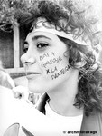 "Roma, Gennaio 1990 - Manifestazione studenti ""Pantera"""