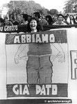 Roma, Novembre 1988 - Manifestazione fisco