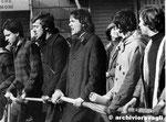Roma, Maggio 1968 - Manifestazione lotta continua