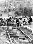 Roma, Novembre 1987 - Manifestazione contro zingari