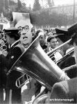 Roma, Aprile 1974 - Manifestazione contro divorzio Dc