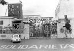Roma, Giugno 1968 - Occupazione della fabbrica Apollon