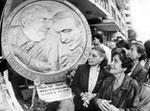 Palermo, Maggio 1993 - Manifestazione sindacati unitari contro stragi in Sicilia