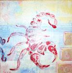 Sternzeichen Skorpion Acryl auf Leinwand 2008