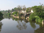 Fresnay-sur-Sarthe : La Sarthe.