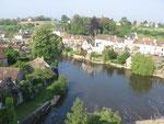 Fresnay-sur-Sarthe : Vue sur la Sarthe.