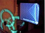 Mediale Inszenierung im Rahmen der electronic lounge Moers Festival
