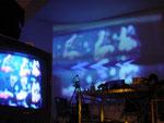 Videoprojektionen im zentrifuge Labor