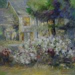 Francin                                                Huile sur toile 80 x 80