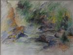 Le Ceno                                aquarelle  85x70